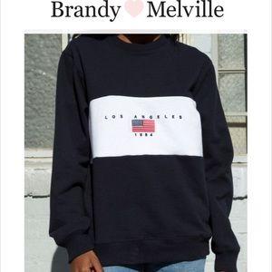 Brandy Melville Erica Los Angeles Sweatshirt